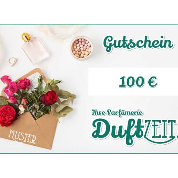 Duftzeitz - Gutschein - 100