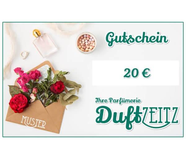 Duftzeitz - Gutschein - 20