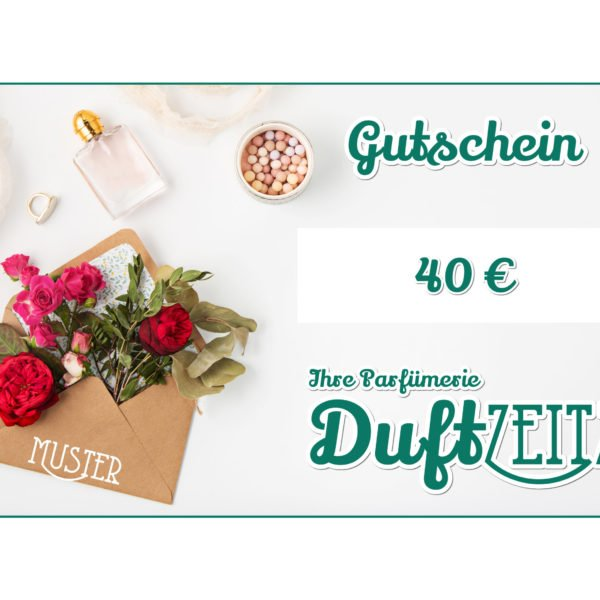 Duftzeitz - Gutschein - 40
