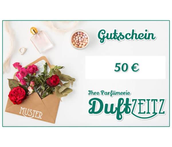 Duftzeitz - Gutschein - 50